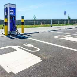 Electric Car Charging Marking